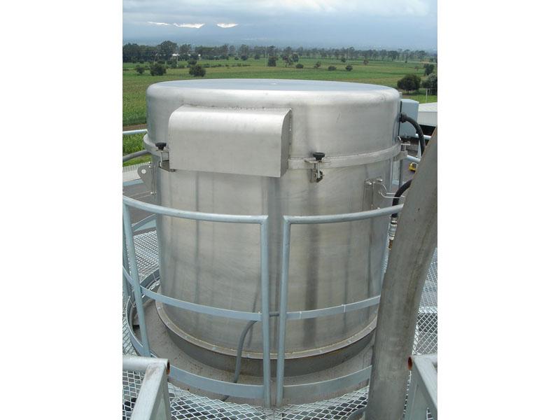 Filtro automático para separación de polvo.
